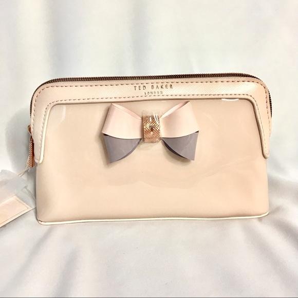 83e89e1aee Ted Baker Bags | Nwt Pale Pink Make Up Bag | Poshmark